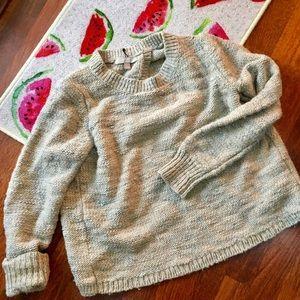 Banana republic open back chunky sweater